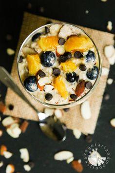 Orange Blueberry Vanilla Overnight Oats