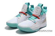 "buy popular b00dd f862f Where To Buy Air Jordan 33 ""Guo Ailun"" PE White Jade-Red AQ8830-101. Air  Force 1Nike ..."