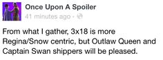 Where was CaptainSwan in that episode?!?! Oh well, at least Regina and Robin finally kissed! :-) OutlawQueen, FTW!