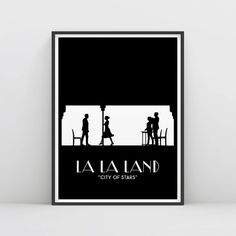 La La Land  La La Land Poster  City of stars   by RamblrPrints