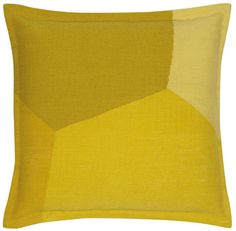Cell Yellow by Edward Barber and Jay Osgerby | Wool Cushion