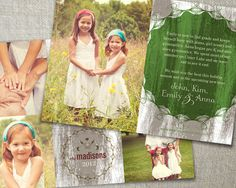 Rustic Christmas photo card // Country Christmas by peartreespace, $16.00