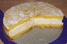 Käsesahnetorte mit Pfirsichen 15