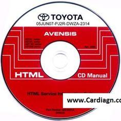 Toyota Avensis 2005 Service Repair Manual scr1 Toyota Avensis, Electrical Wiring Diagram, Repair Manuals, Free