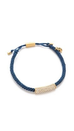 Michael Kors macramé bracelet