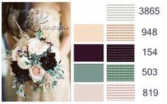 Gallery.ru / Фото #24 - Цветовые палитры - BlueBelle Colour Pallete, Colour Schemes, Color Trends, Color Palettes, Yarn Color Combinations, Stitch Book, Cross Stitch, Color Psychology, Dmc Floss
