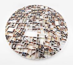 Paper sculpture cities by Matthew Picton | http://matthewpicton.com/