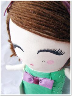 stunning handmade dolls (would LOVE one of these!)