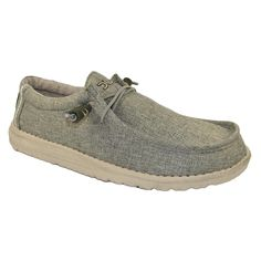 HEY DUDE Wally Linen Men | Sage (10798400)