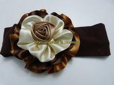 moños flores en cinta fáciles de elaborar para decoración de peinados paso a paso No. 322 - YouTube
