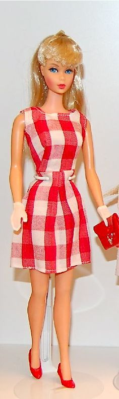 Mod TNT Barbie in Rare Japanese outfit 1960's