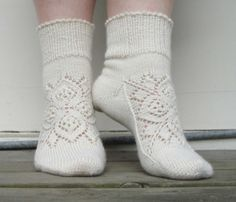 Beautiful sock, unusual technique.  At http://www.ravelry.com/patterns/library/grun-ist-die-hoffnung
