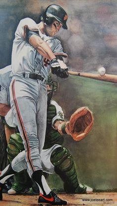 Will Clark / San Francisco Giants Baseball Art, Giants Baseball, Baseball Players, Baseball Odds, Baseball Quotes, Baseball Stuff, Giants Players, Baseball Pictures, My Giants