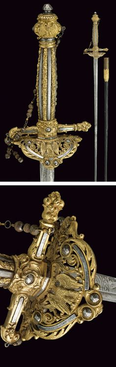 A diplomat's small-sword,    provenance:	 	France dating:	 	19th Century.