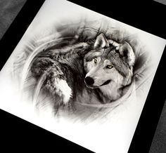 Realistic wolf tattoo design done in black and grey by Brandon Marques. Timeless Tattoo Studio, Toronto, ON. For appointments and info visit our website or email: info@timelesstattoos.ca