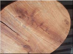 Kis kerek asztallap tölgyfából - Antik bútor, egyedi natúr f Wabi Sabi, Natural Wood Furniture, Garden Poles, Loft Furniture, Garden Borders, Industrial Loft, Country Chic, Shabby Chic, Fa