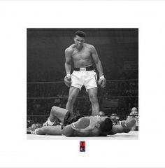 Muhammad Ali vs. Sonny Liston Poster Print (16 x 16) - Item # PYRPPR45114 - Posterazzi