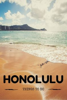 Things to Do in Honolulu Oahu Vacation, Vacation Places, Vacations, Greece Travel, Hawaii Travel, Hawaii Things To Do, Hawaii Volcanoes National Park, Honolulu Hawaii, Beautiful Places In The World