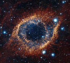 Helix Nebula. Looks like a cat's eye.