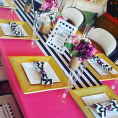 kate spade themed baby shower