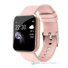 Stainless Steel Smart Watch Heart Monitor - I5 pink