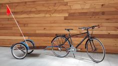 Bike trailers- what do you recommend or pictures of your custom build? « Singletrack Forum