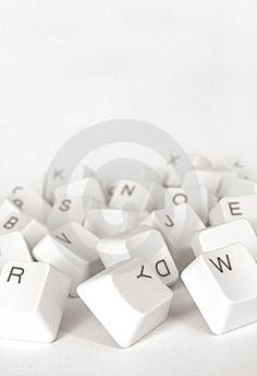 Computer keys Stock Images