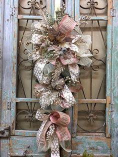 Christmas Swag Christmas wreath Christmas Decor Door Swags