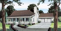 Ranch   Traditional   House Plan 74008