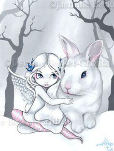 Fairy Rabbit :  Snow Bunny