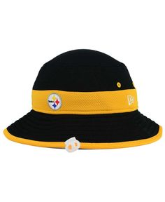 New Era Pittsburgh Steelers Training Camp Reverse Bucket Hat Steelers  Training Camp 3927a0d9524d
