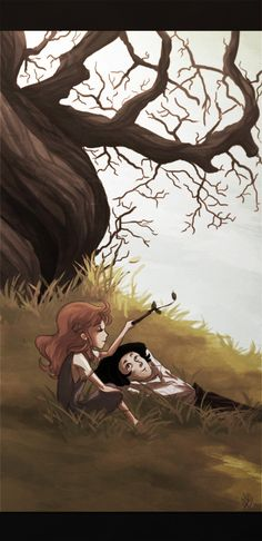 Severus and Lily by ~monotogne on deviantART