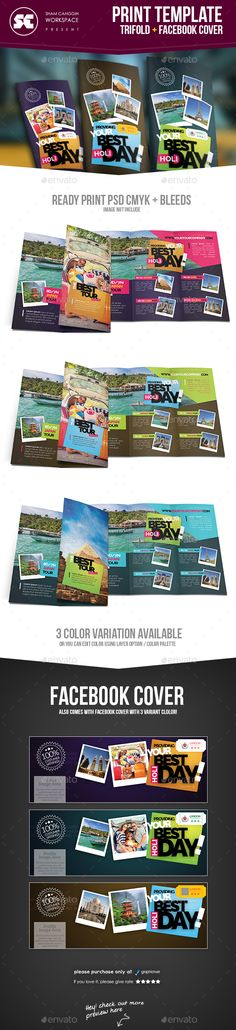 Travel & Tour Tri-Fold Brochure Template PSD #design Download: http://graphicriver.net/item/travel-tour-trifold-brochure/13974245?ref=ksioks
