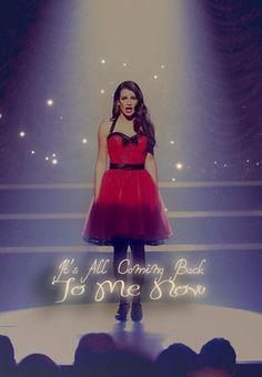 Glee - in the last episode de 3 season Episode 3, Finn Glee, Lea Michele Glee, Rachel And Finn, Glee Club, Rachel Berry, Small Town Girl, Cory Monteith, Everything