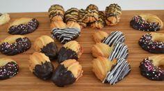 Masas Secas Batidas o de Manga 02 Fondant Numbers, Valentines Food, Four, Mini Cupcakes, Sweet Recipes, Cookie Recipes, Sushi, Healthy Snacks, Bakery