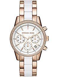 7b4edeb6be13 Michael Kors Reloj analogico para Mujer de Cuarzo con Correa en Acero  Inoxidable MK6324 Relojes Mujer