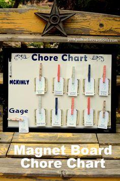 DIY Magnet Board Cho