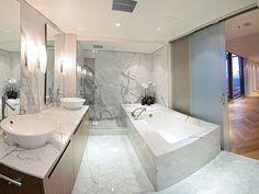Shangri-la Vancouver Penthouses one of 5 bathroons Penthouse For Sale, Shangri La Hotel, Pent House, Wonders Of The World, Vancouver, Condo, Bathtub, Real Estate, Bathrooms