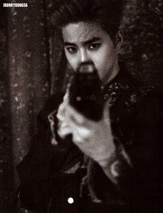 "Suho - Exo ""álbum repackage Lotto"" (Photobook)"
