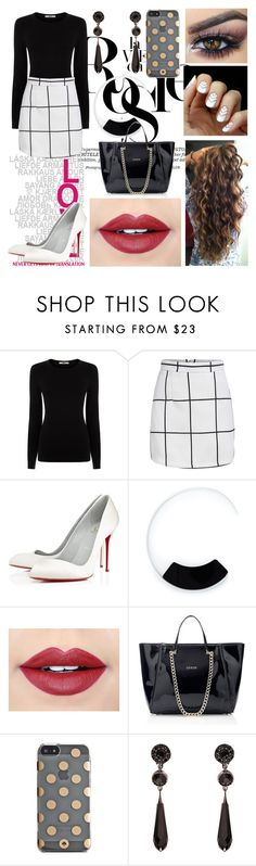 """""""7 XI 15"""" by xitsmara ❤ liked on Polyvore featuring Whiteley, Oasis, Christian Louboutin, Marni, Fiebiger, Kate Spade and Givenchy"""