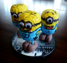 The Minions Project Nohama pevně na zemi. Craft Projects For Kids, Diy Crafts For Kids, Minions, Ale, Creative, Character, The Minions, Kids Craft Projects, Ales