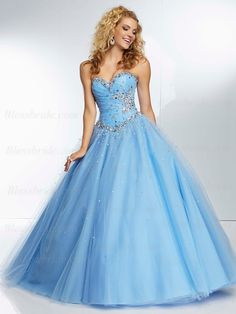 white and blue quinceanera dress - Google Search