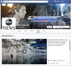 """Facebook may be rolling out a redesigned Videos section for certain pages. When implemented, the change will include the ability to add a """"Featured Video."""""""
