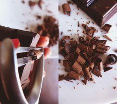 Como Fazer Raspas de Chocolate - Raspas de Chocolate