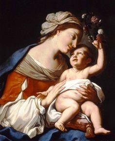 Elisabetta Sirani: María y el Niño.