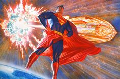 Superman (based on the Max Fleischer series) - Art by Alex Ross