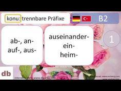 almanca I Deutsch I trennbare Präfixe Music, Youtube, Deutsch, Musica, Musik, Muziek, Music Activities, Youtubers, Youtube Movies