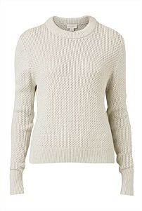 Textured Crop Knit