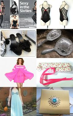 Sexy in the Sixties by Gayla and Al Esch on Etsy--Pinned with TreasuryPin.com #Teamlove #vintage #jewelry #Fashion #etsyretwt