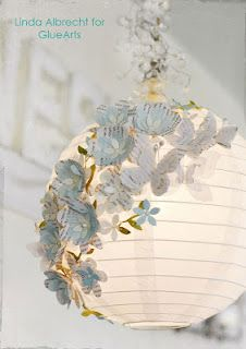 Gorgeous paper-crafted lantern